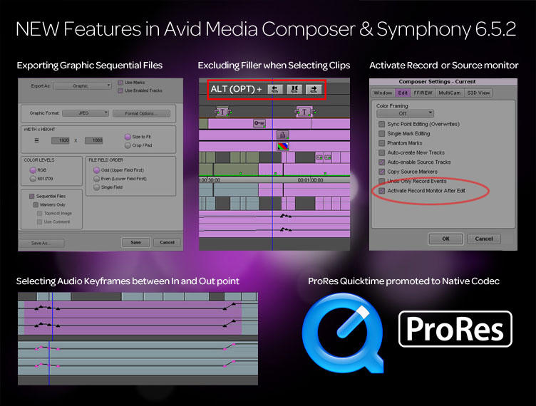 What's new in Avid 6.5.2