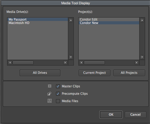 How to use Media Tool in Avid