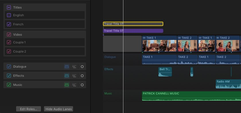 how to speed up on final cut pro
